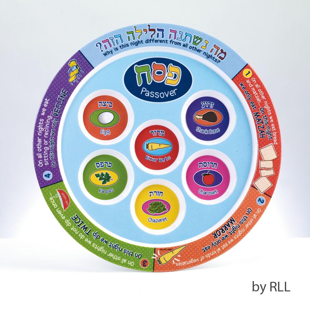 Children S Melamine Seder Plate